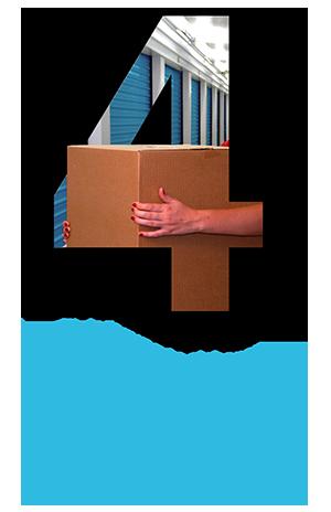 Einlagerung in sicheren und blickdichten boxen mit großräumigen stellplätzen